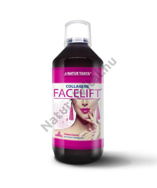 Specchiasol® COLLAGENE FACELIFT® Szabadalommal védett, folyékony kollagén koncentrátum.