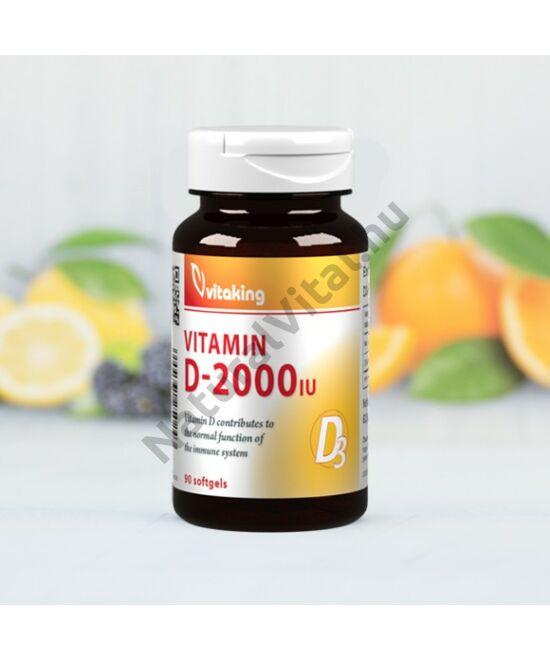 Vitaking D-vitamin 2000NE 90db