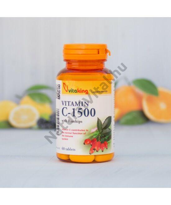 Vitaking C-1500 C-vitamin tabletta 60 db