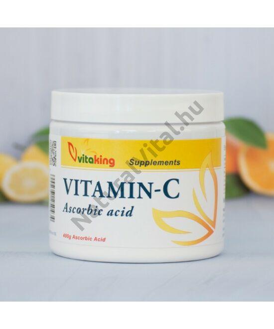 Vitaking C-vitamin aszkorbinsav por 400 g