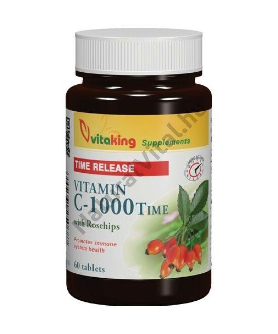 Vitaking TR nyújtott felszívódású C-vitamin 1000 mg 60db