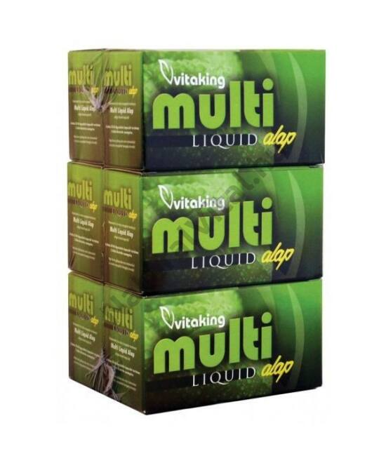 Vitaking Multi Liquid Alap Multivitamin gélkapszula 180 db