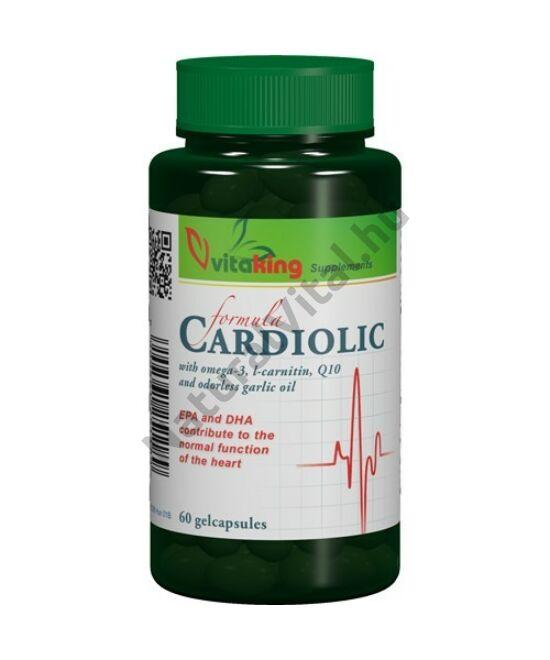 Vitaking Cardiolic Formula gélkapszula 60 db