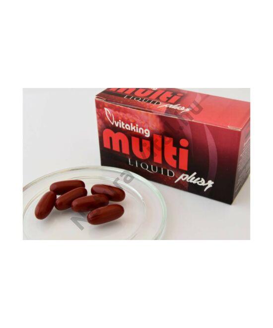 Vitaking Multi Liquid Plusz Multivitamin gélkapaszula 180 db