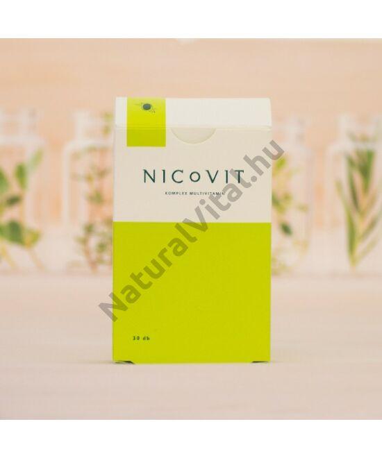 Vitaking Nicovit multivitamin 30 db