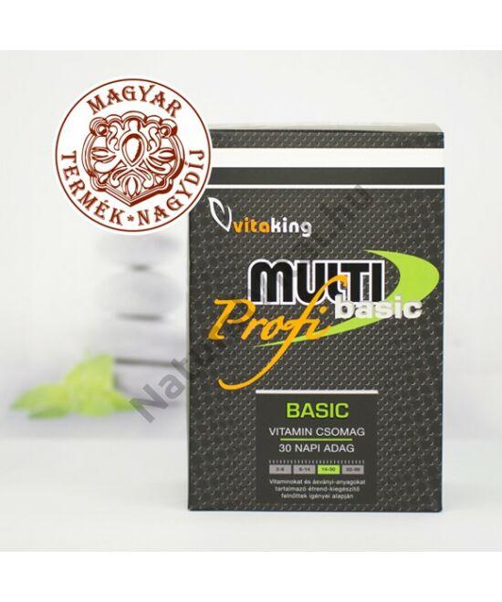 Vitaking Multi Basic Profi vitamincsomag 30 db