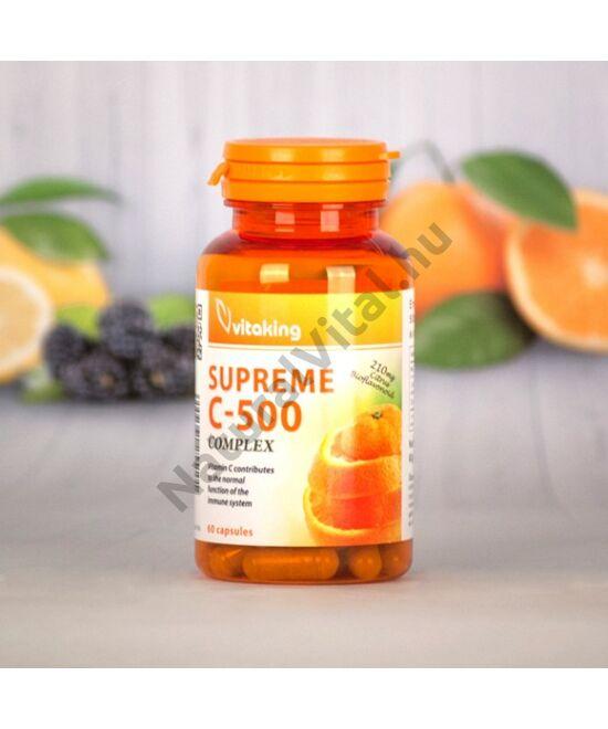 Vitaking Supreme C-500 C-vitamin komplex bioflavonoidokkal 60 db