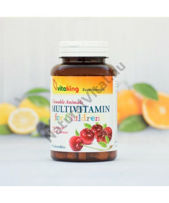 Vitaking Meggyes gyerek multivitamin 90 db