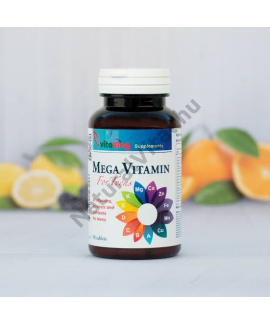 Vitaking Mega vitamin kapszula Tiniknek 90 db