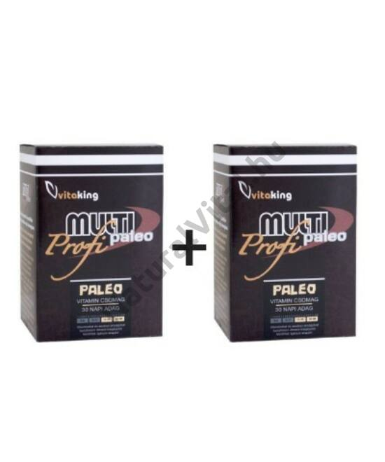 Vitaking Multi Paleo Profi vitamincsomag DUO 2x30 db