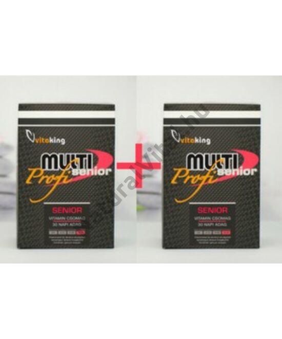 Vitaking Multi Senior Profi vitamincsomag DUO 2x30 db