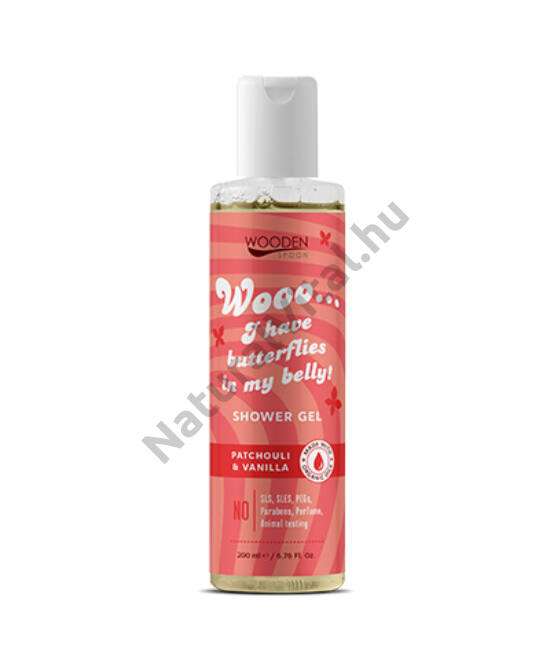 Wooden Spoon Bio tusfürdő - Love (200 ml)