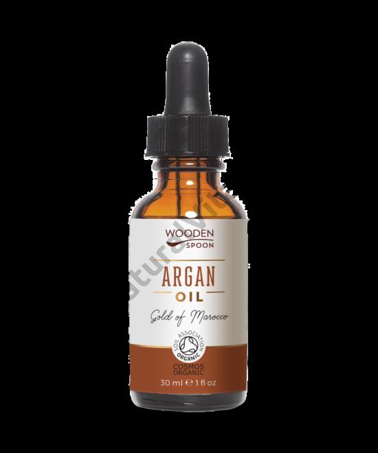 Wooden Spoon Bio argánolaj, pipettás (30 ml)