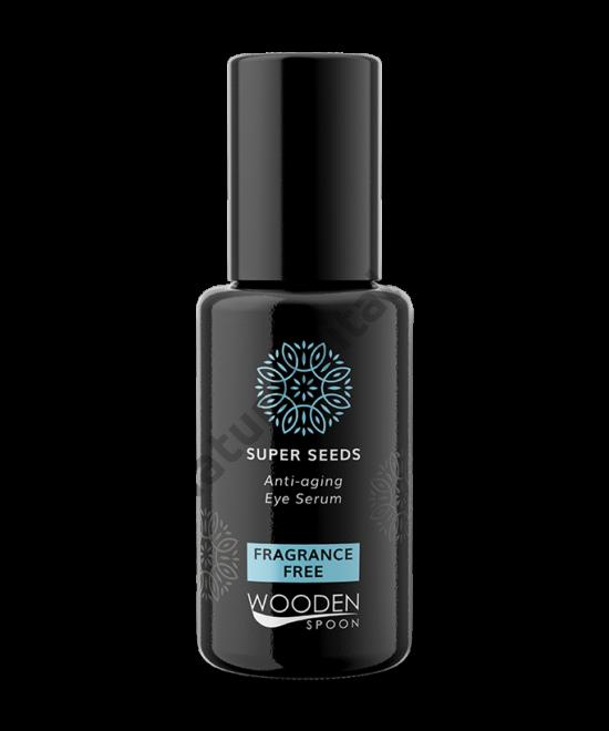 Wooden Spoon Bio Superseed szemkörnyékápoló szérum - érzékeny bőrre (15 ml)