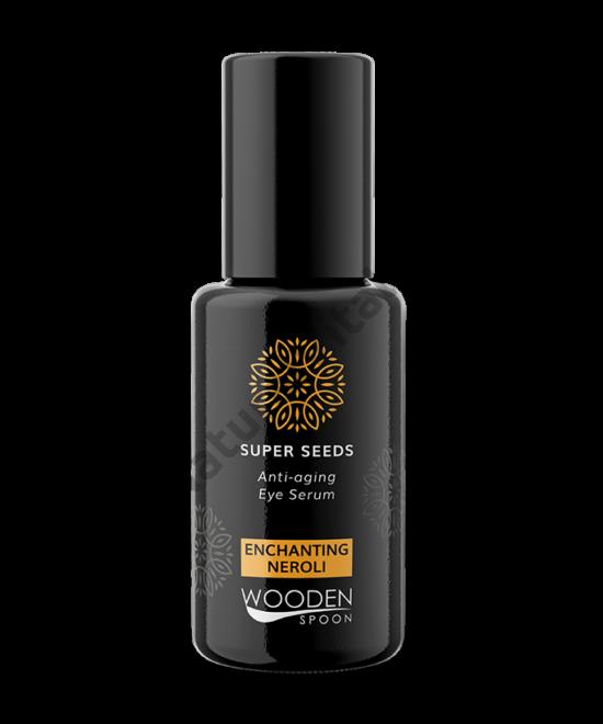 Wooden Spoon Bio Superseed szemkörnyékápoló szérum - száraz bőrre (15 ml)